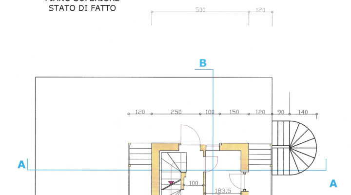 RIF.243-S BAITA SAN NICOLO' DI COMELICO planimetria 2