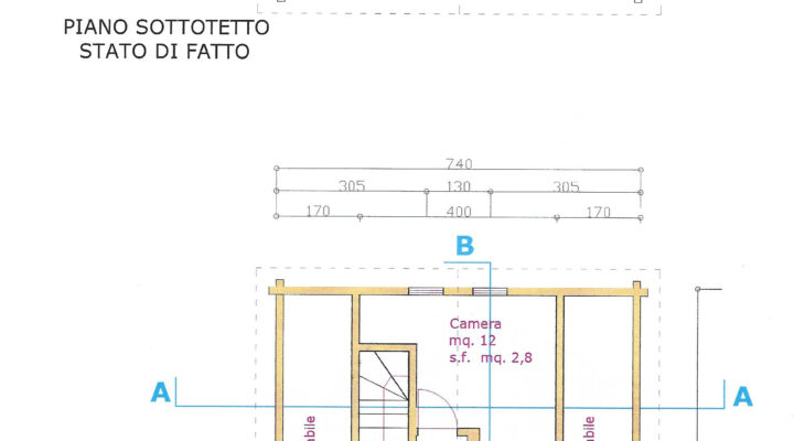 RIF.243-S BAITA SAN NICOLO' DI COMELICO planimetria 3