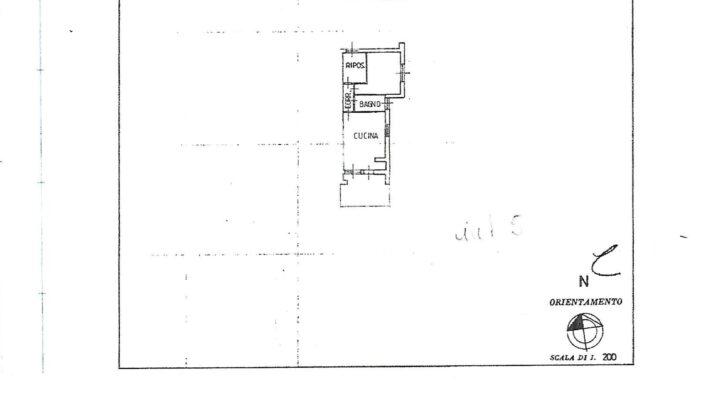 RIF.154-S Appartamento in vendita a Sottocastello planimetria 1