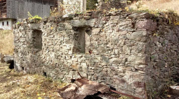 rif.495-S Terreno e rustico a Casamazzagno planimetria 1