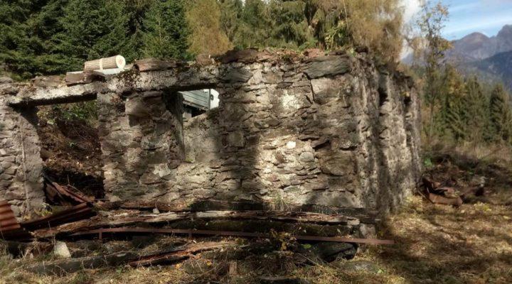 rif.495-S Terreno e rustico a Casamazzagno planimetria 3