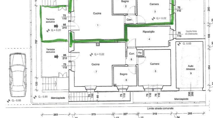 rif. 501 Grazioso appartamento a Presenaio planimetria 17