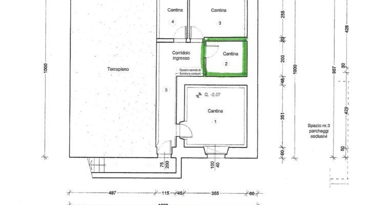 rif. 501 Grazioso appartamento a Presenaio planimetria 18
