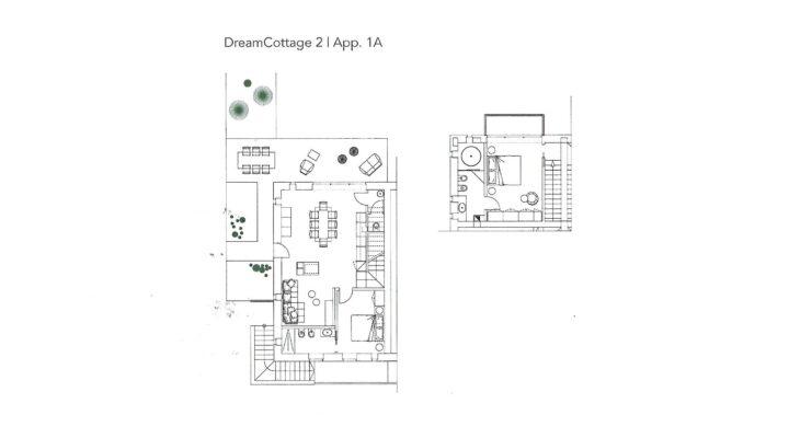 """Rif. 587-S """"Dream Cottage"""" Appartamenti a Padola planimetria 1"""