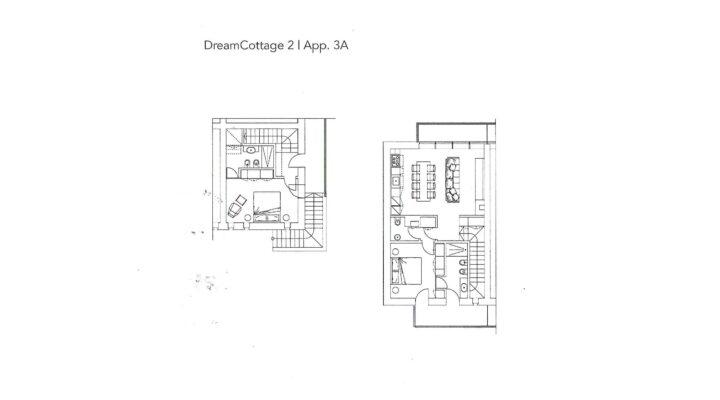 """Rif. 587-S """"Dream Cottage"""" Appartamenti a Padola planimetria 3"""
