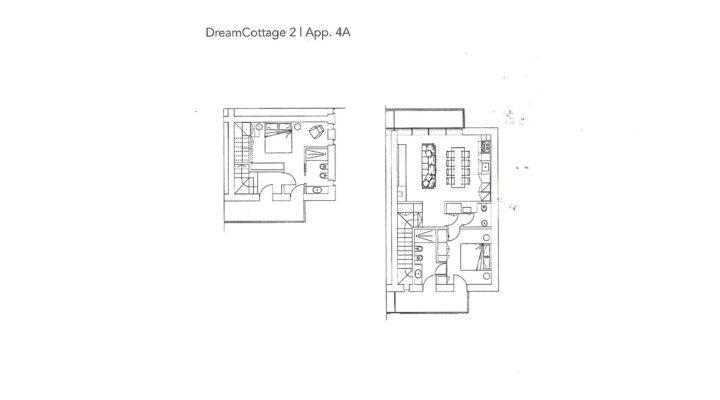 """Rif. 587-S """"Dream Cottage"""" Appartamenti a Padola planimetria 4"""