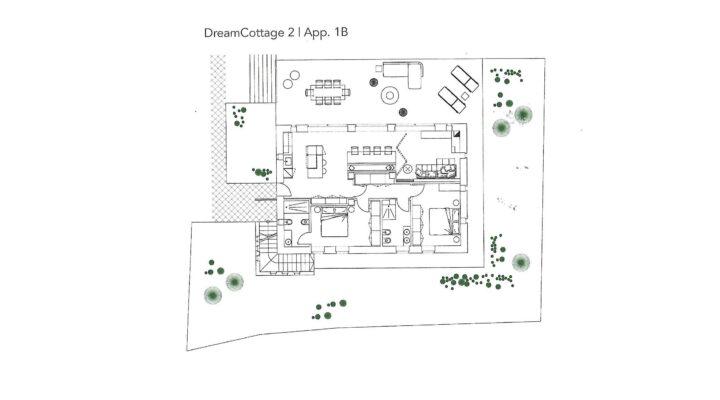"""Rif. 587-S """"Dream Cottage"""" Appartamenti a Padola planimetria 5"""