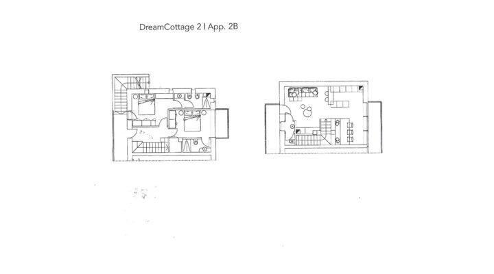 """Rif. 587-S """"Dream Cottage"""" Appartamenti a Padola planimetria 6"""