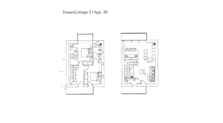 """Rif. 587-S """"Dream Cottage"""" Appartamenti a Padola planimetria 7"""