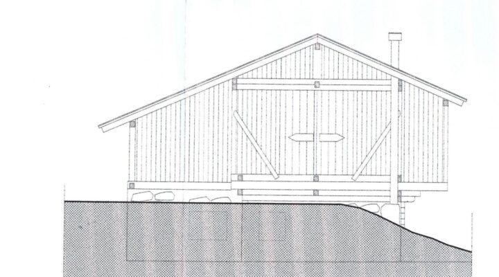 Rif. 595-S Baita panoramica in vendita a Costalta planimetria 1