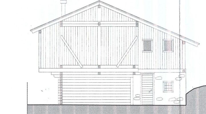 Rif. 595-S Baita panoramica in vendita a Costalta planimetria 3