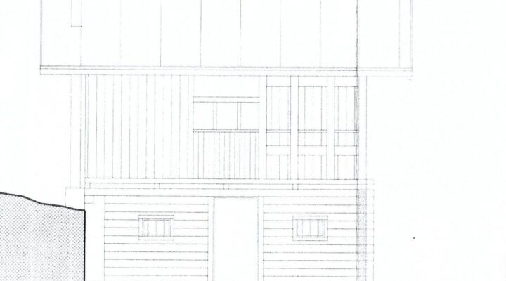 Rif. 595-S Baita panoramica in vendita a Costalta planimetria 4