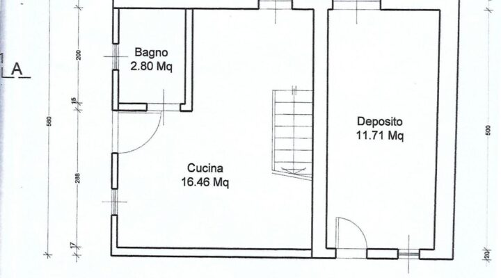 Rif. 595-S Baita panoramica in vendita a Costalta planimetria 5